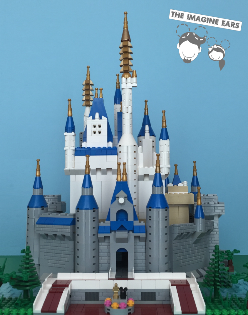 Lego Disney World Cinderella Castle Magic Kingdom Imagine Ears