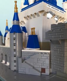 Lego Disney World Cinderella Castle Magic Kingdom Imagine Ears