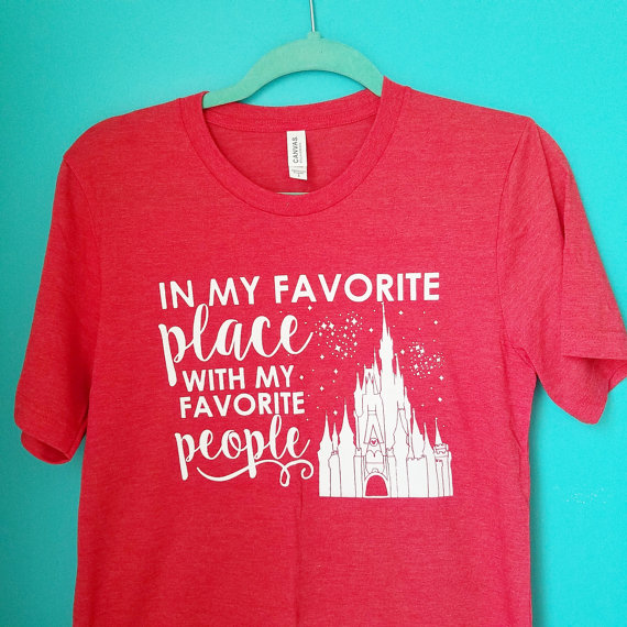 "A great shirt from the ""Once upon a mickey tee"" Etsy store"