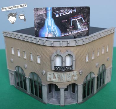 Imagine Ears - HO Train scale Disney Tron Flynn's arcade