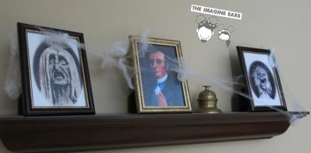 Imagine Ears - Haunted Mansion portraits