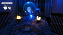 Imagine Ears Haunted Mansion - finished projection