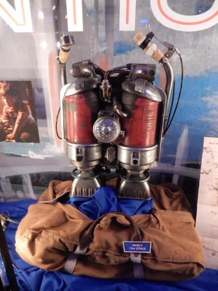 franks jetpack Tomorrowland movie prop