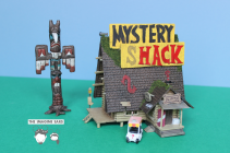 HO Scale Gravity Falls Mystery Shack by the Imagine Ears