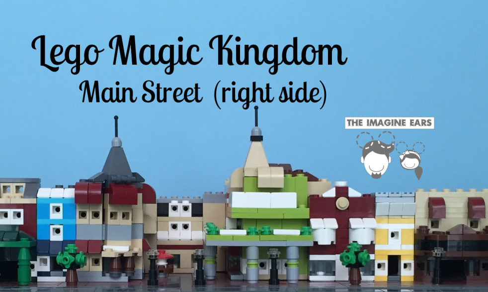 Imagine Ears - Lego Magic Kingdom - Main Street Right banner
