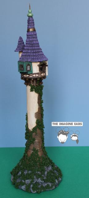 Imagine Ears HO scale Train Tangle Rapunzel Tower