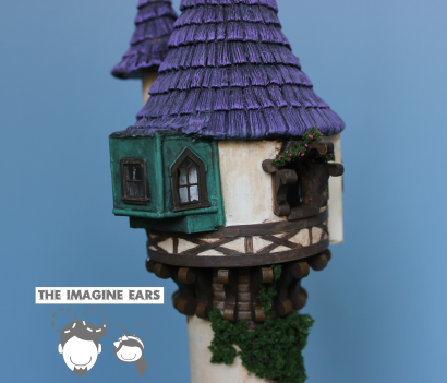 Imagine Ears HO scale Train Tangle Rapunzel Tower