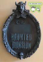 Imagine Ears Haunted Mansion DIY Entrance Sign