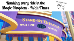 title - ride wait times