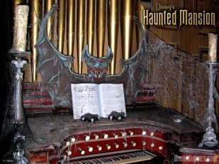 Haunted Mansion Imagine Ears Organ