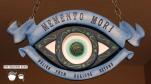Imagine Ears Haunted Mansion Memento Mori DIY shop sign prop