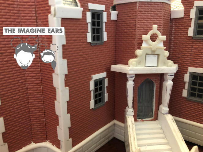 1:87 Haunted Mansion scratch built miniature wip 1