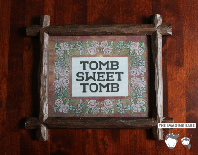 Haunted Mansion Tomb Sweet Tomb Frame