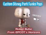Imagine Ears Disney Epcot Horizons Robot Butler custom Funko Pop