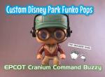 Imagine Ears Disney Epcot Wonders of Life Cranium Command Buzzy Funko Pop