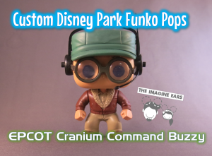 Imagine Ears Disney Epcot Wonders of Life Cranium Command Buzzy Funko Pop