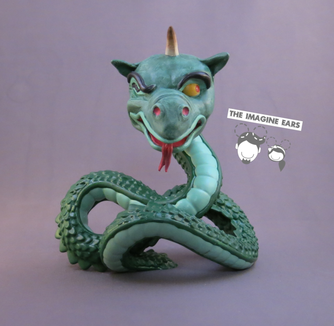 Imagine Ears custom Disney Park funko pops Epcot World of Motion Sea Serpent